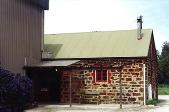 The Stables are now Cellar door & Langmeil Winery - Experience - Langmeil Village History