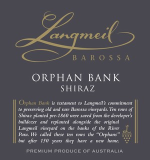 2009 Orphan Bank Shiraz