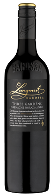 2017 Three Gardens Grenache Shiraz Mataro